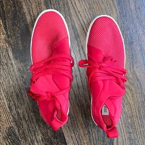 Steve Madden Red Sneakers
